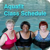 aquafit schedule